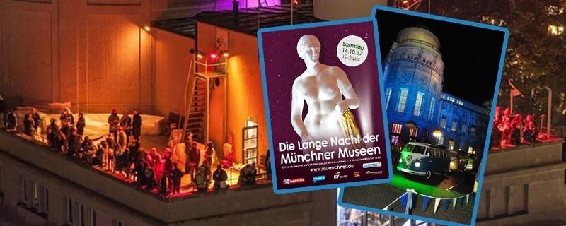 Die Lange Nacht der Münchner Museen 2017  - Bilder und Plakat, © Fotos: Museumsnacht München / Maren Köhler