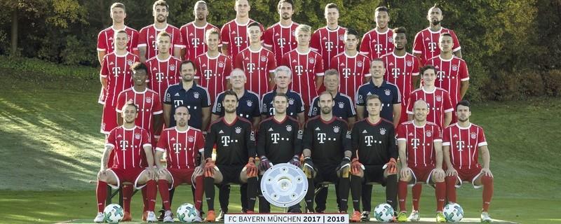 © Das neue Mannschaftsfoto des FC Bayern München