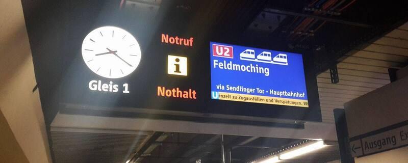 Aktuell kommt es auf den U-Bahn-Linien U2, U3 und U6 zu starken Behinderungen.