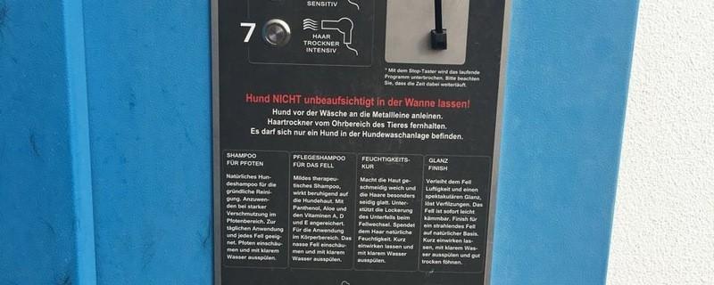 Die CSU fordert Hundewaschstationen für München., © Foto: CSU Stadtratsfraktion