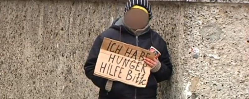 betteln, Bettler, Innenstadt München