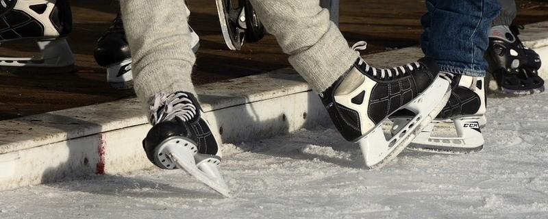 Schlittschuhe, Eislaufen