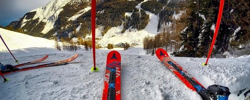 Ski Piste Abfahrt, © Symbolfoto