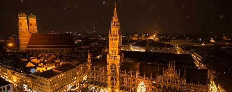 Weihnachten und Winter am Münchner Marienplatz, © Foto:  TOJE Photografie