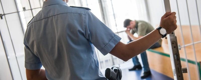 Mann in einer Zelle, © Symbolfoto der Bundespolizei