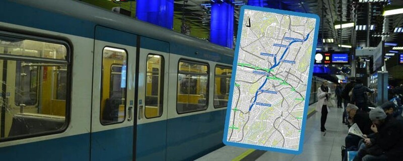 So könnte die geplante U9 in München verlaufen