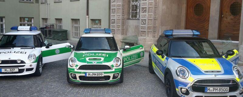 Mini-Dienstfahrzeug Polizei