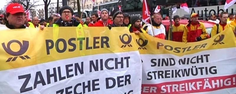 Demo der Postboten in München, © Symbolbild