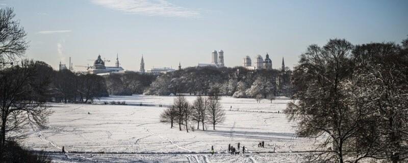© Perfekt für einen Spaziergang in München: Der Englische Garten im Winter