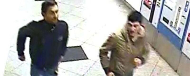 Die gesuchten Männer, die zwei Münchner verprügelt haben sollen