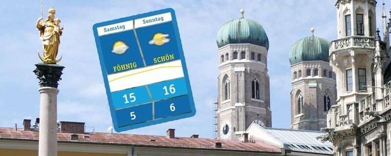 aktuelle Wetteraussichten für München Oberbayern und Region