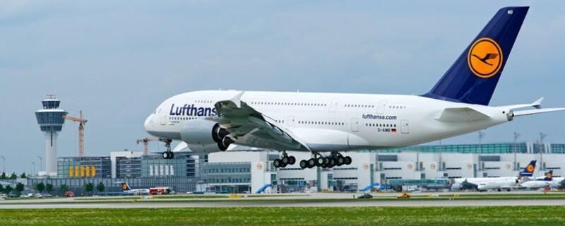 Der Airbus A380 der Lufthansa, © Bild: Lufthansa