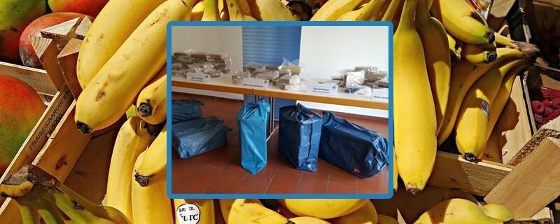 Im September 2017 wurde das Kokain in den Bananenkisten gefunden