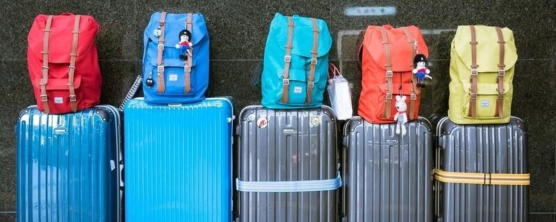 Koffer, Rucksack, Gepaeck, Flughafen, Reise
