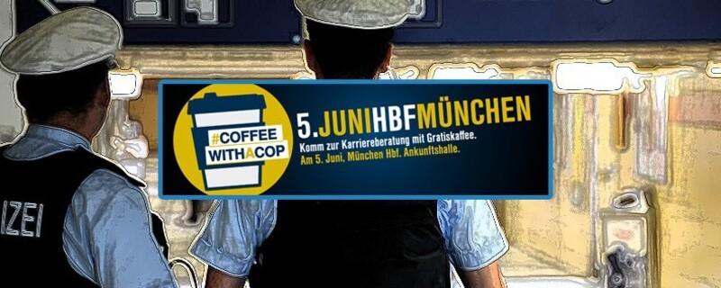 Bundespolizei läd zum Kaffee ein