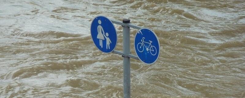 Hochwasser, © Symbolfoto