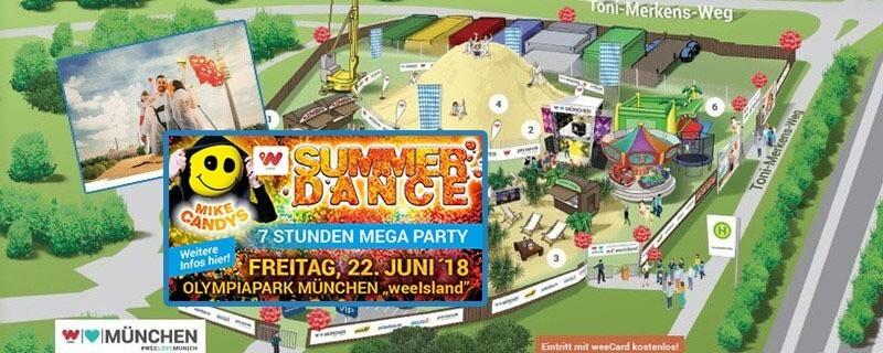 wee Island im Olympiapark - Summerdance