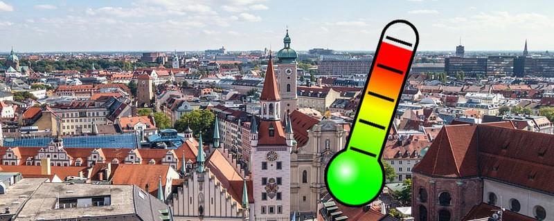 Hitze in München