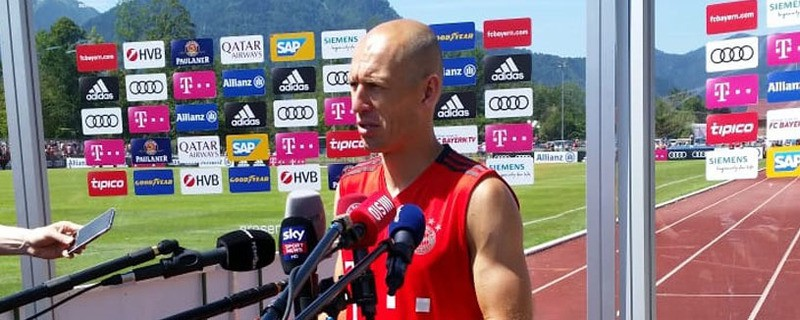Arjen Robben im Interview