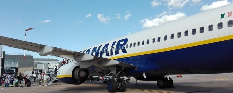 Ein FLugzeug von Ryanair, © Symbolfoto
