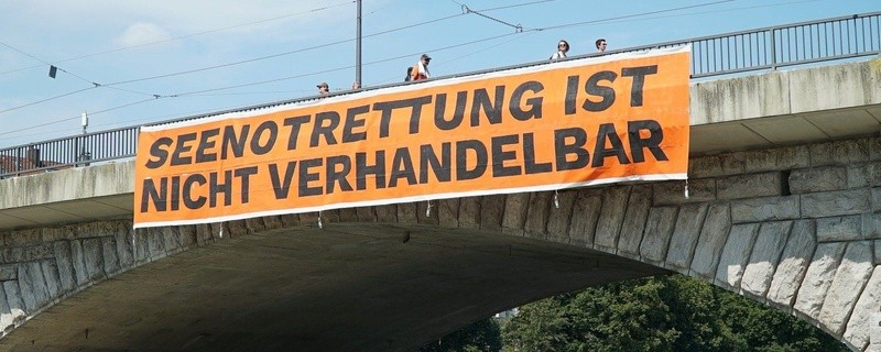 """Build bridges not walls"": So lautet das Motto der geplanten Großdemonstration am Samstag, den 25. August 2018."