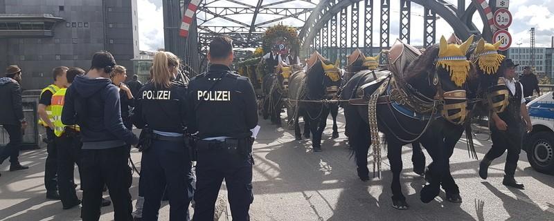Die Bundespolizei ist auf das Oktoberfest in München bestens vorbereitet, © Bundespolizei