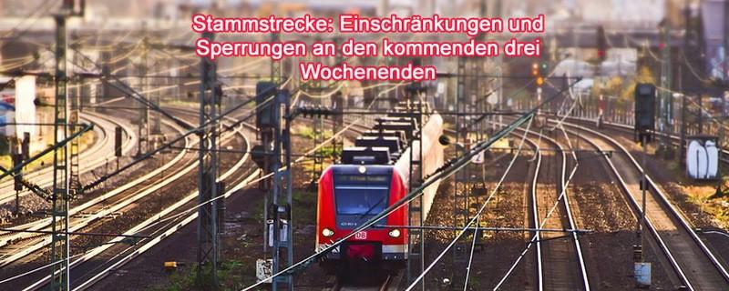 Stammstrecke (S-Bahn München) Sperrungen und SEV an Wochenenden