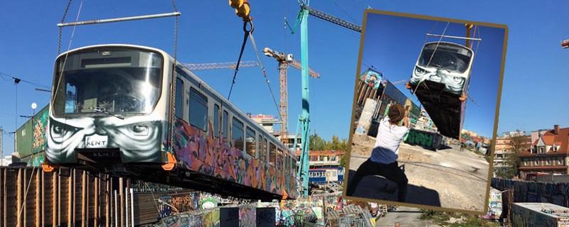 © Die Kulturstätte Bahnwärter Thiel bekommt weitere U-Bahn-Waggons