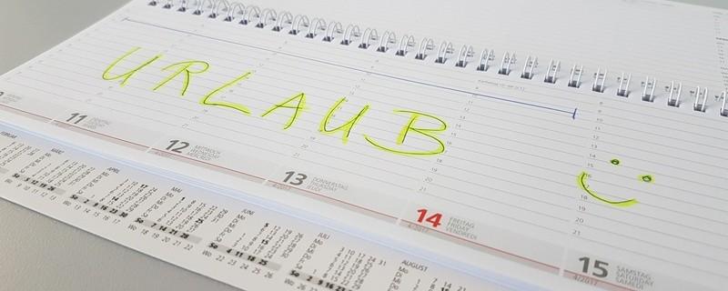 Früh planen Lohnt sich - Brückentage 2019 im Kalender