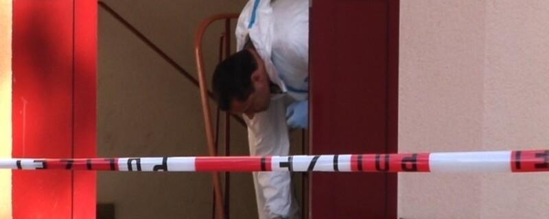 Die Spurensicherung an einem Tatort, © Symbolfoto