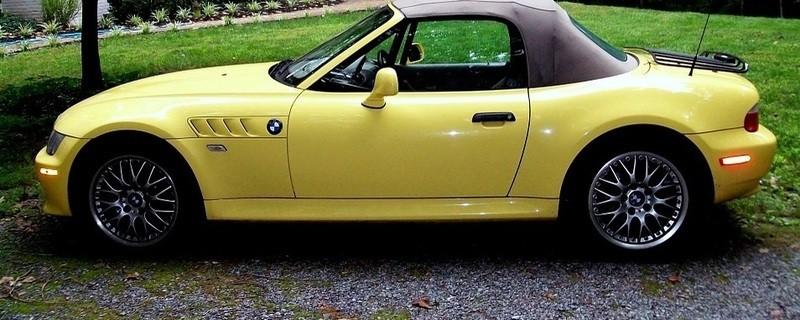 gelbes Cabrio, © Symbolbild