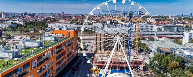 Riesenrad, Wheel of Munich, Werksviertel, © Bild Maurer SE