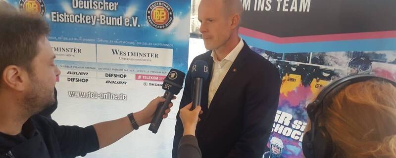 Toni Söderholm beim Interview