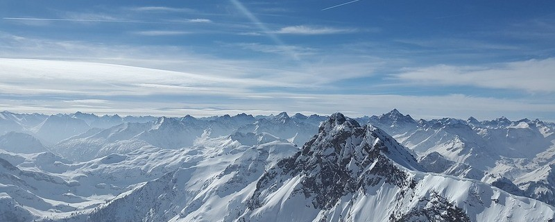 Schnee in den Alpen, © Symbolbild