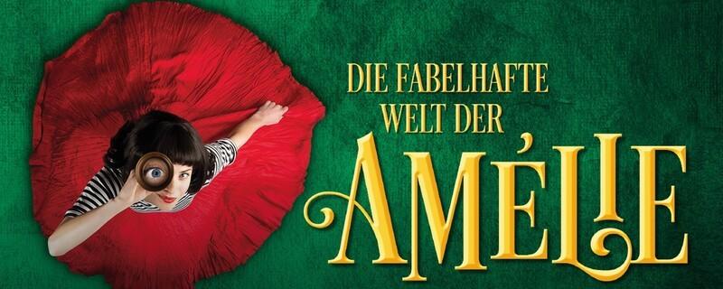 Plakat für das Musical die wunderbare Welt der Amelie, © Stage Entertainment