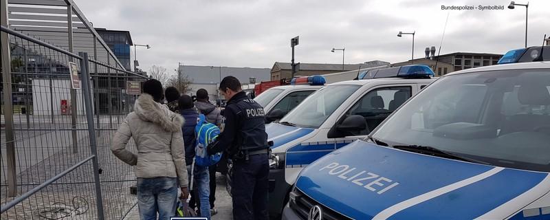 Die Bundespolizei am Bahnhof Laim, © Bundespolizei