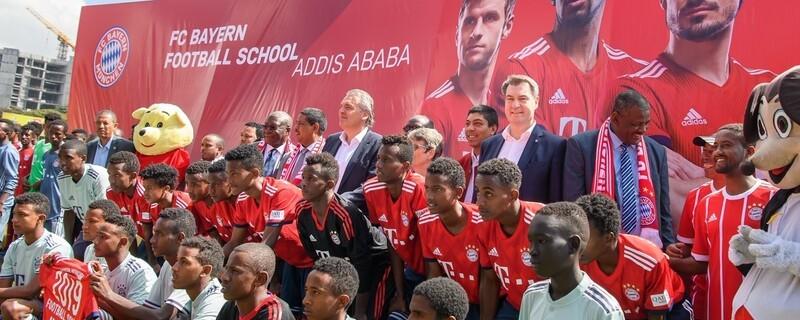 FC BAYERN FOOTBALL SCHOOL ADDIS ABABA, © FC Bayern München
