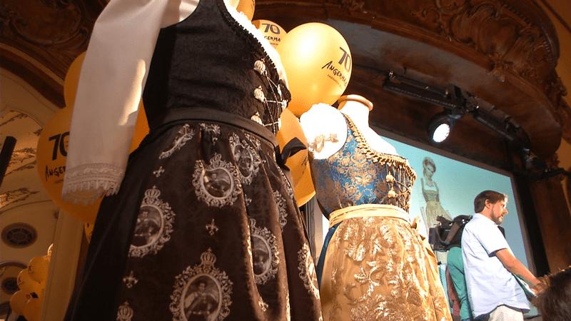 Pünktlich vor der Wiesn: Harald Glööckler bei der Vorstellung seiner Trachtenkollektion in München