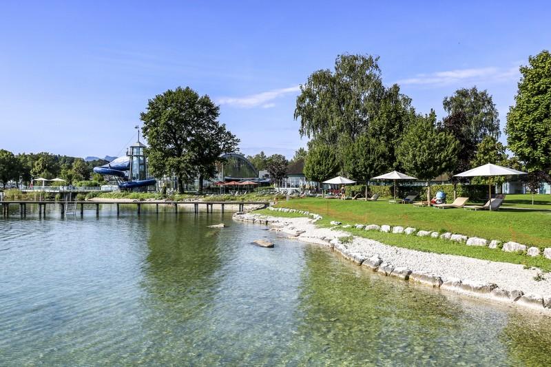 Das Prienavera Strandbad am Chiemsee, © Chiemsee Marina GmbH