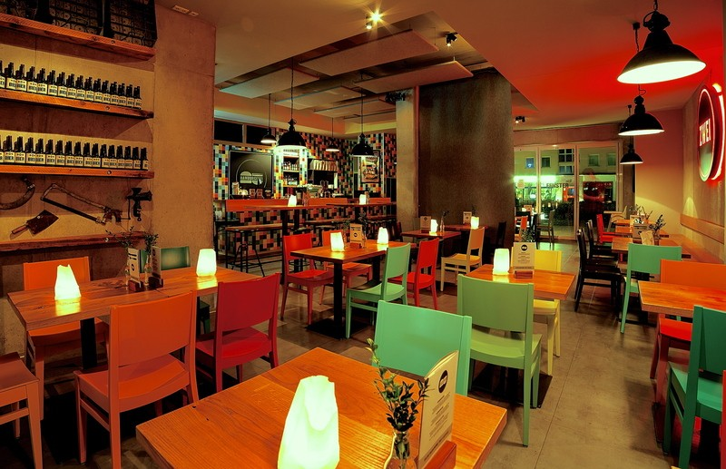 Hamburgerei Zwei, Restaurant, © Hamburgerei
