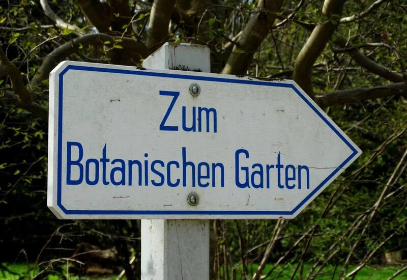 © Ab in den Botanischen Garten. Bild: Agnes aus München