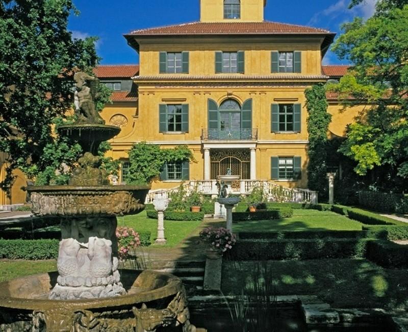 Städtische Galerie im Lenbachhaus München: Alte Villa, © Städtische Galerie im Lenbachhaus München: Alte Villa
