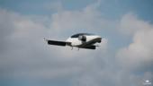 Lilium-Jet, © Das Flugtaxi, bzw Elektroflugzeug Lilium bei seinem Jungfernflug - Bild: Lilium