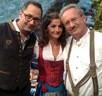 Das Oktoberfest Moderatoren Team mit Christian Ude