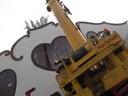 Oktoberfest 2014 Marstall Quadriga kommt aufs Dach
