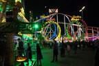 Oktoberfest Achterbahn Stimmung Wiesn Nachts, © Rico Güttich / münchen.tv