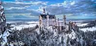 Schloss Neuschwanstein im Winter, © Schloss Neuschwanstein im Winter - Bild: Andreas Bedity Photography