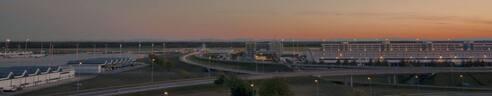 Der Münchner Flughafen im Panorama, © Der Münchner Flughafen im Panorama - Bild: Foto Pixel by daniw