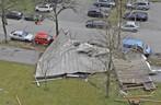Foto der Berufsfeuerwehr München Dach abgedeckt, © Foto der Berufsfeuerwehr München
