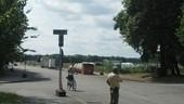 Bombenfund - Rettungskräfte vor Ort machen sich auf das Schlimmste gefasst., © Die Polizei muss nach Bombenfund das Gebiet abriegeln.